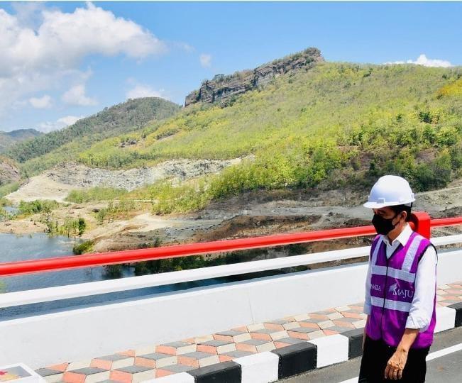 foto : Presiden Jokowi saat kunjungan ke Ponorogo, Instagram @jokowi